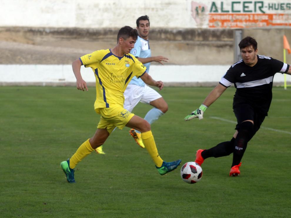 Fútbol. Tercera División- Almudévar vs. Brea