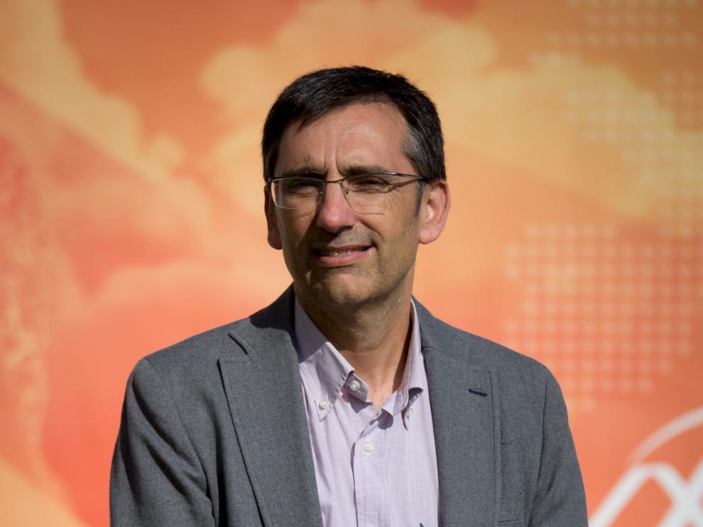García Aznar, en la Universidad de Zaragoza.