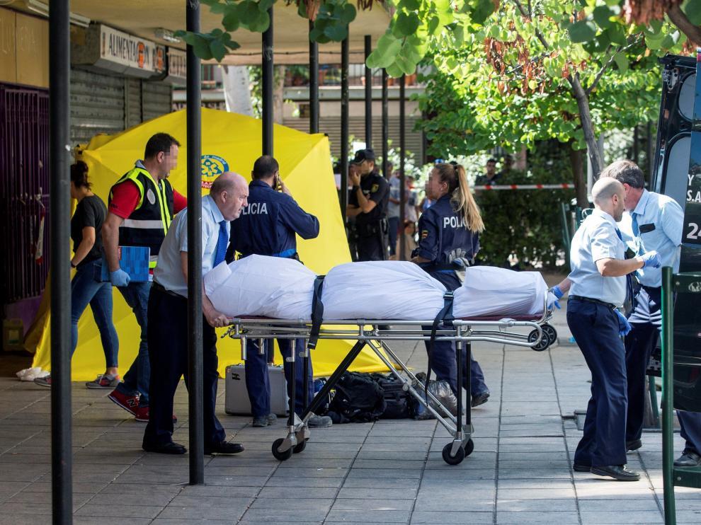 Uno de los asesinatos ha ocurrido en una peluquería del distrito madrileño de Villaverde.