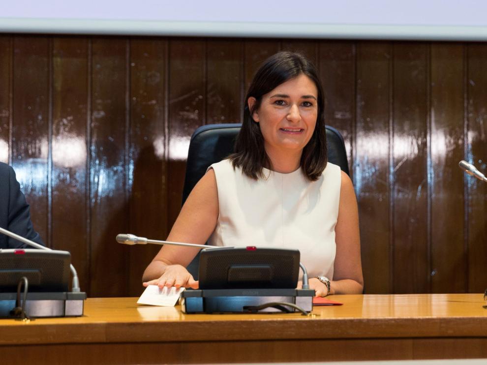 La ministra de Sanidad, Carmen Montón, en una imagen de archivo.