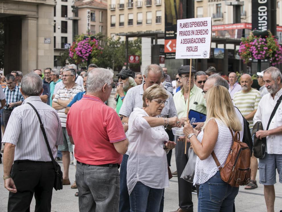 Concentración en defensa de las pensiones