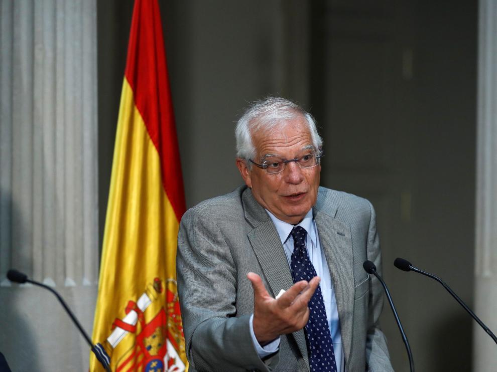 El ministro de Asuntos Exteriores, UE y Cooperación, Josep Borrell.