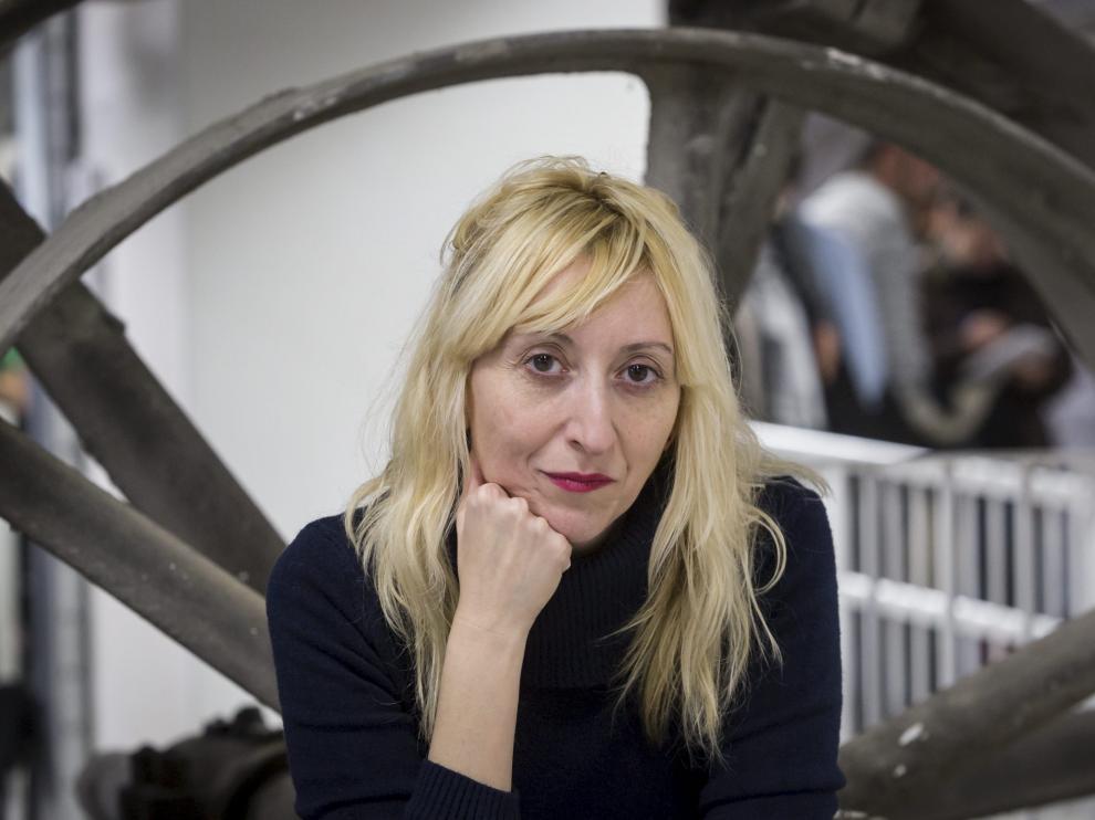 Vicky Calavia, organizadora de ProyectAragon