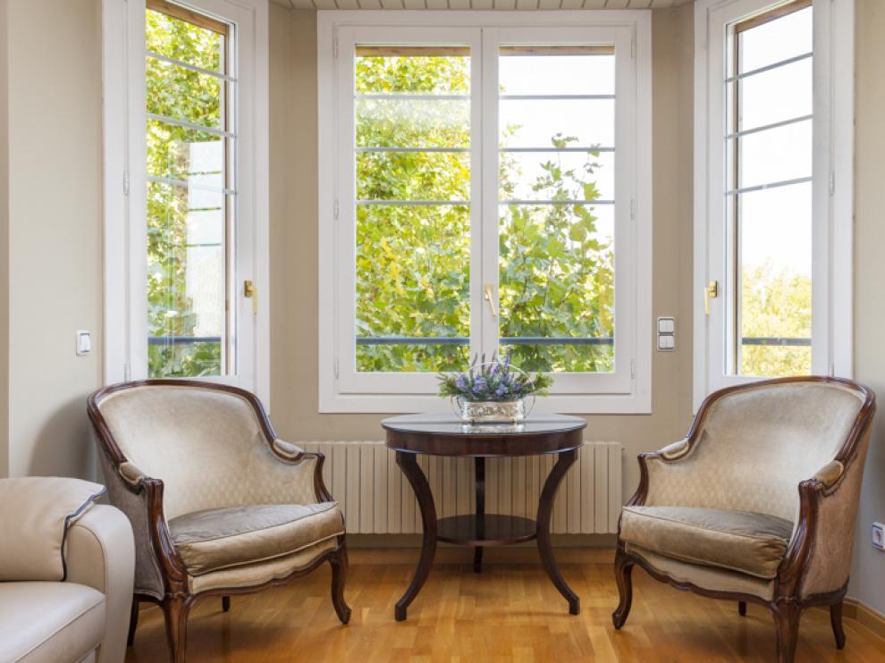 La vivienda destaca por la amplitud de sus estancias.