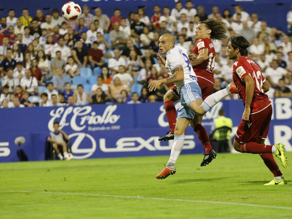 Real Zaragoza - Deportivo, partido de Copa del Rey.