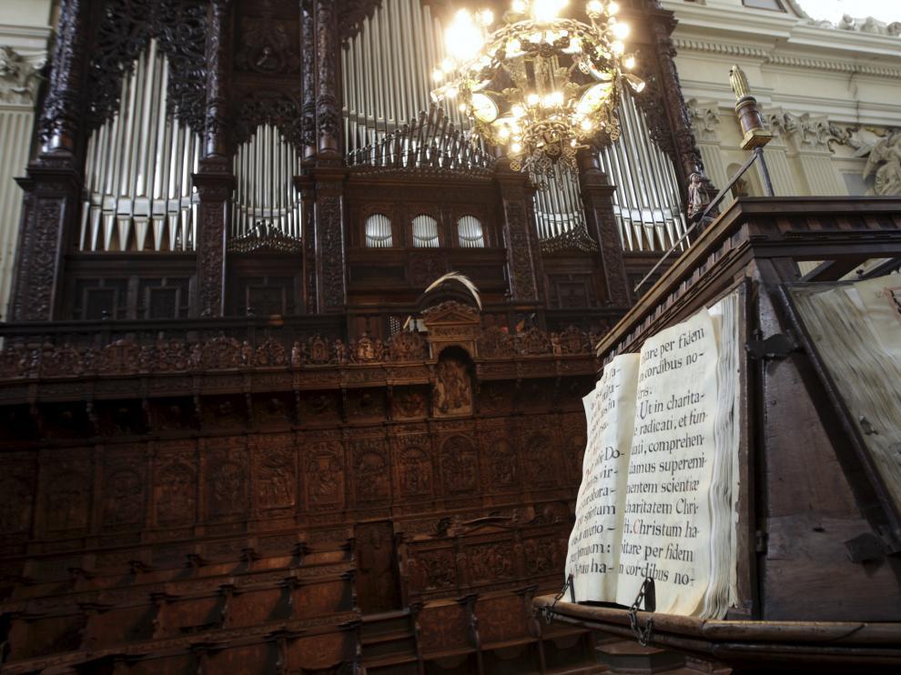 Coro Mayor de la Basílica del Pilar de Zaragoza