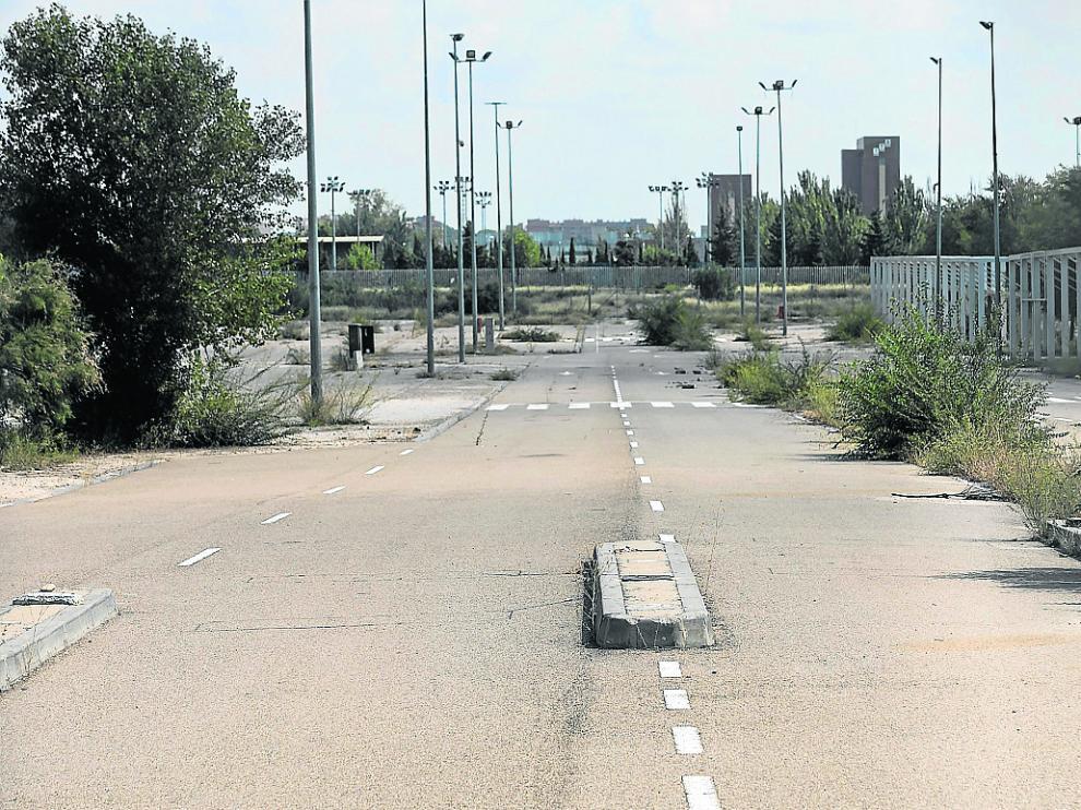 La empresa Ferias Lanzuela renunció a la gestión del recinto del Parking Norte.