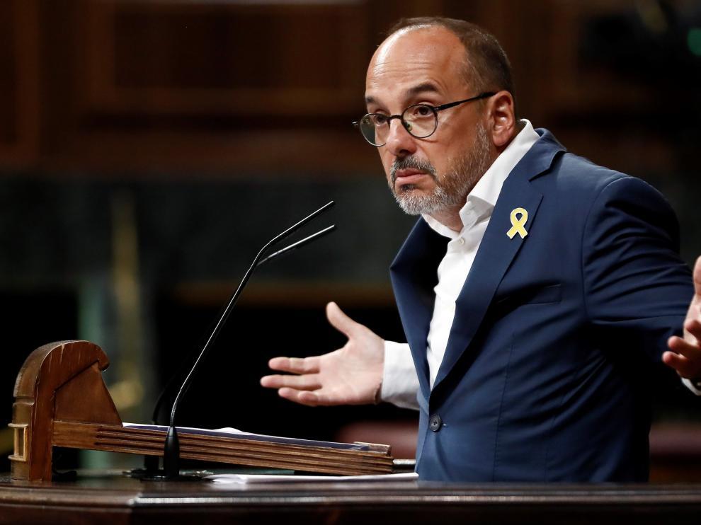 El portavoz del PDeCAT en el Congreso, Carles Campuzano