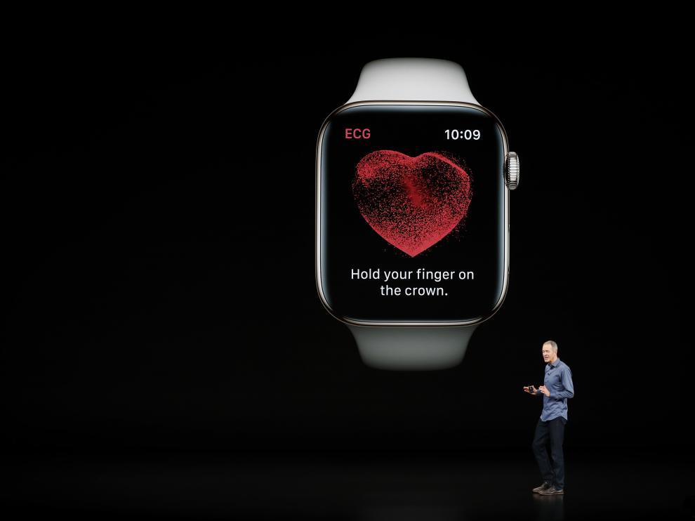 Presentación del Apple Watch Series 4 en el Teatro Steve Jobs (California)