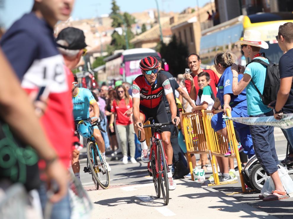 La Vuelta España 2018 en Ejea de los Caballeros