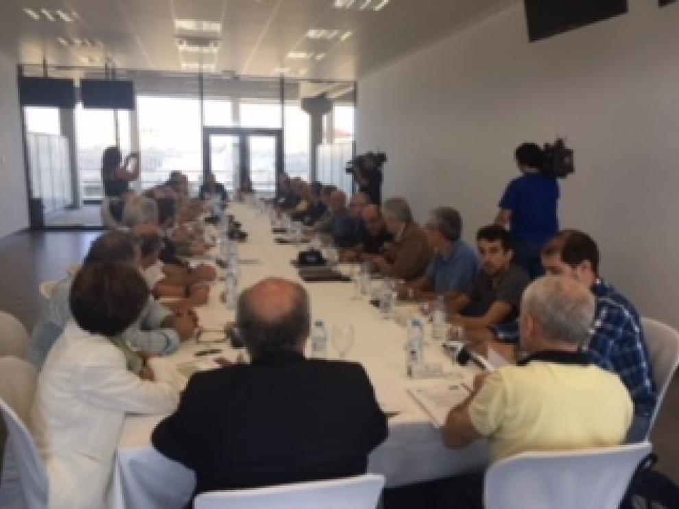 Junta de Seguridad de Motorland en la reunión de este jueves