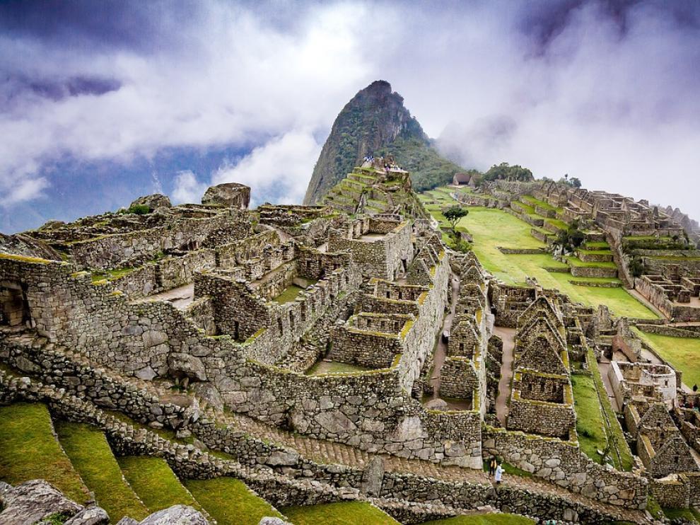 Vista del Machu Picchu, en Perú.