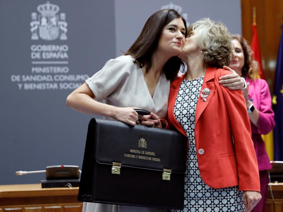 La exministra Carmen Montón ha sido la última en dimitir por la polémica del caso máster.