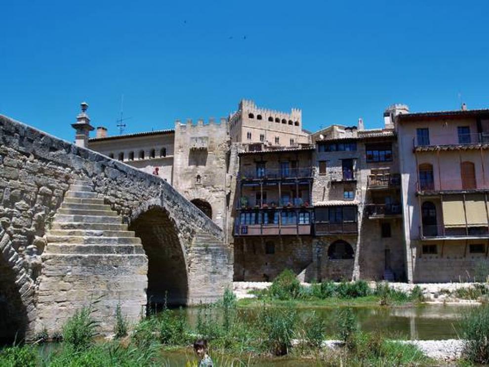 Valderrobres, en la comarca del Matarraña.