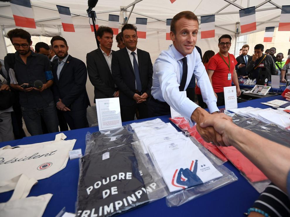 No es la primera vez que Macron realiza controvertidas declaraciones sobre los trabajadores.