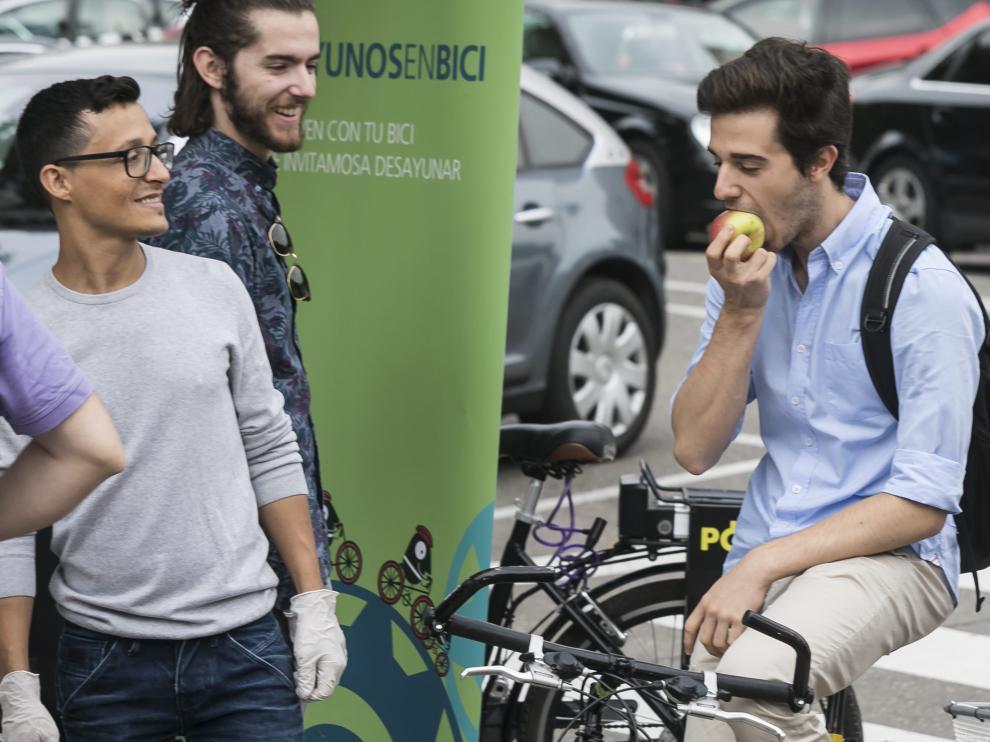 Desayunos Ciclistas en Zaragoza