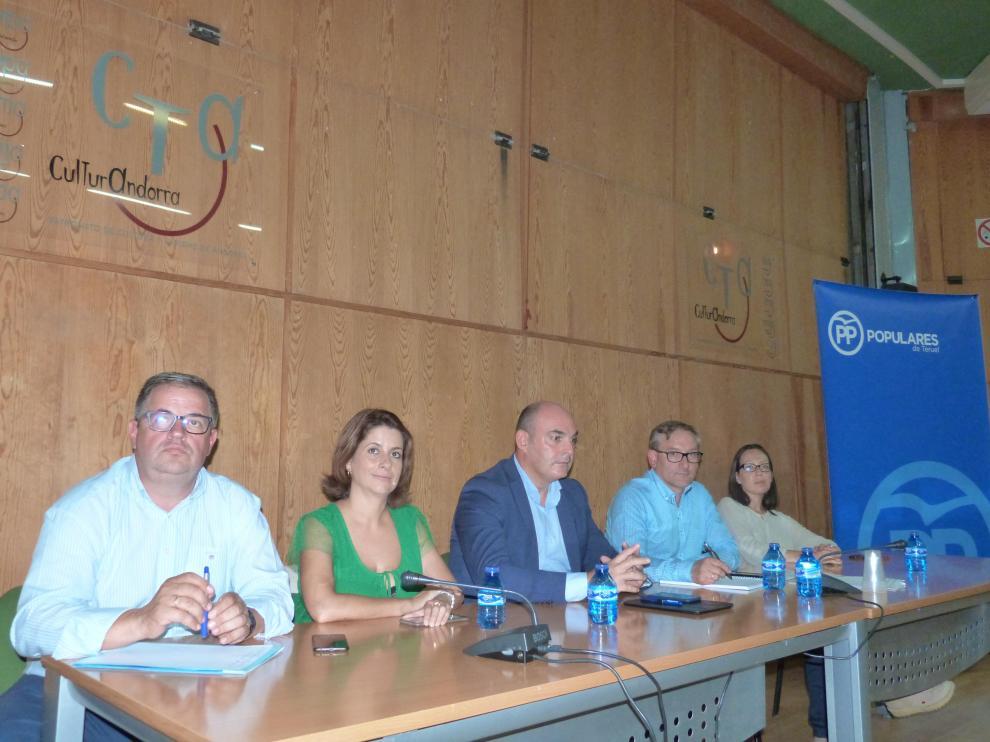 Comité Ejecutivo del Partido Popular en Andorra.