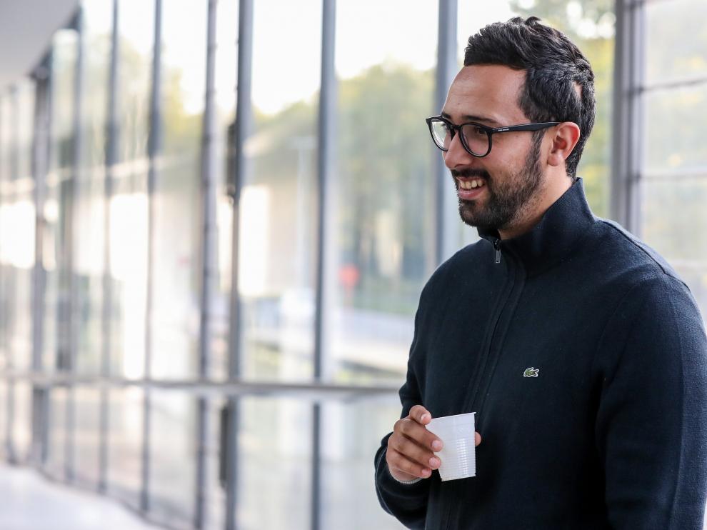 El rapero español Josep Miquel Arenas, conocido como Valtònyc, llega a los juzgados de Gante