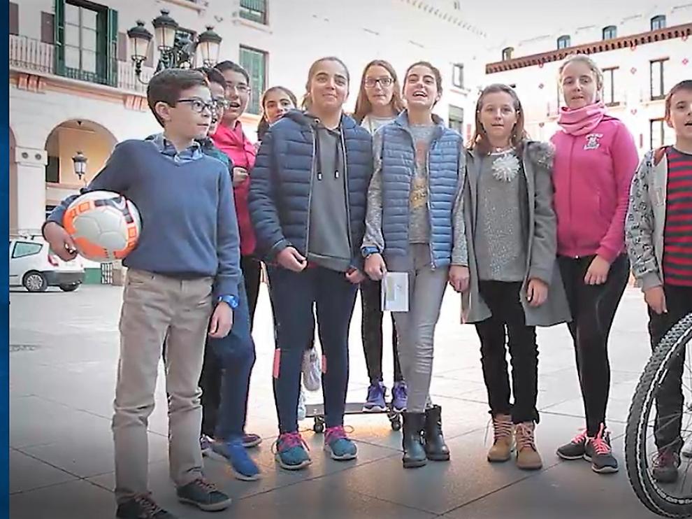 Consejeros de la Ciudad de las Niñas y los Niños de Huesca.