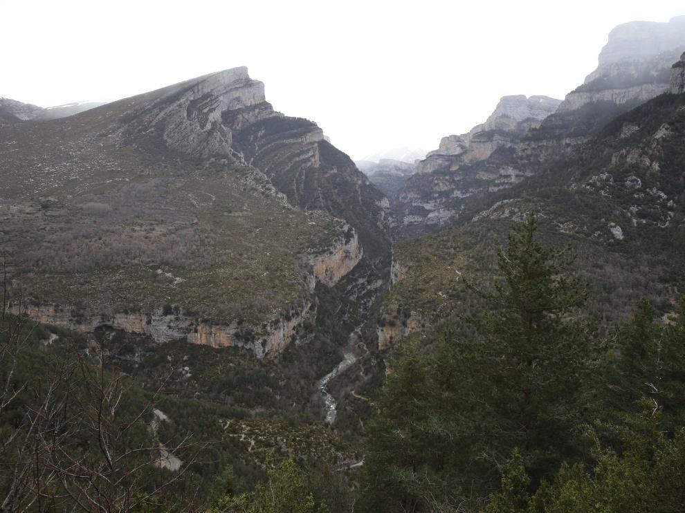 Cañón de Añisclo, Cueva y Molino de Aso. Parque Nacional de Ordesa y Monte Perdido.