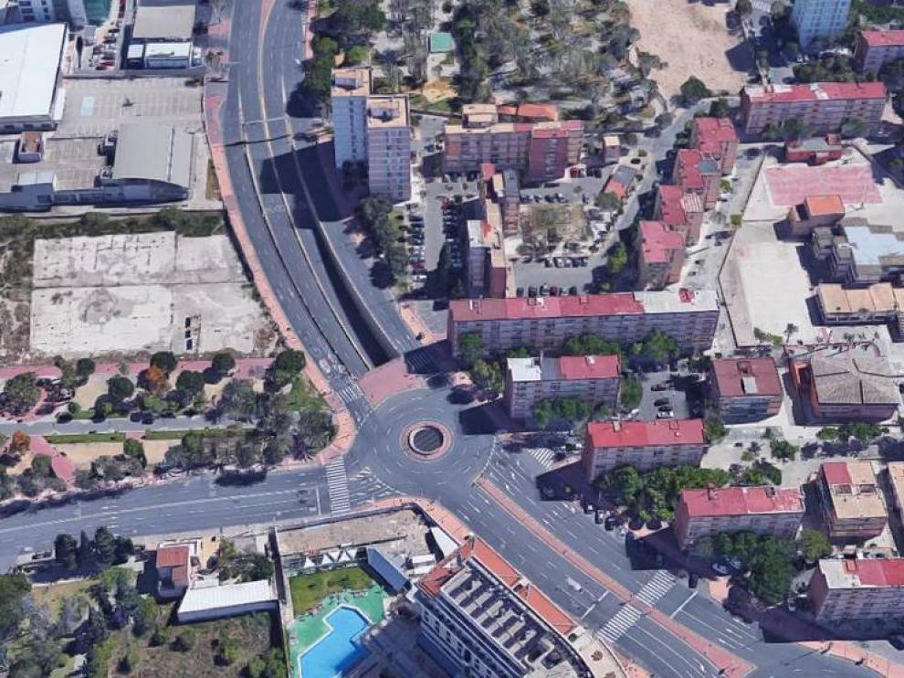Avenida Primero de Mayo Murcia.