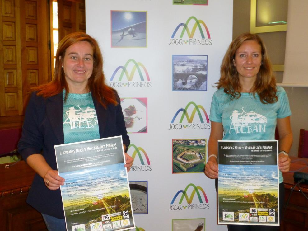 Programa de actividades de la II Jornada mujer y montaña-Jaca Pirineos.