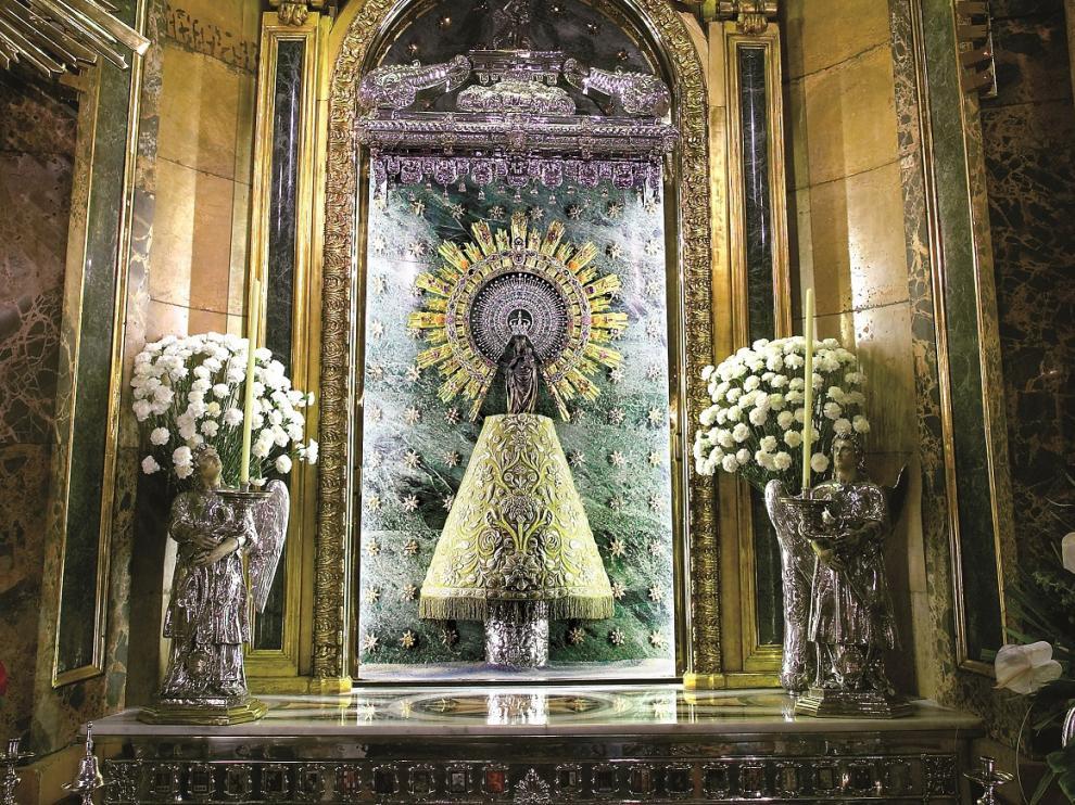 Camarín de la Virgen del Pilar