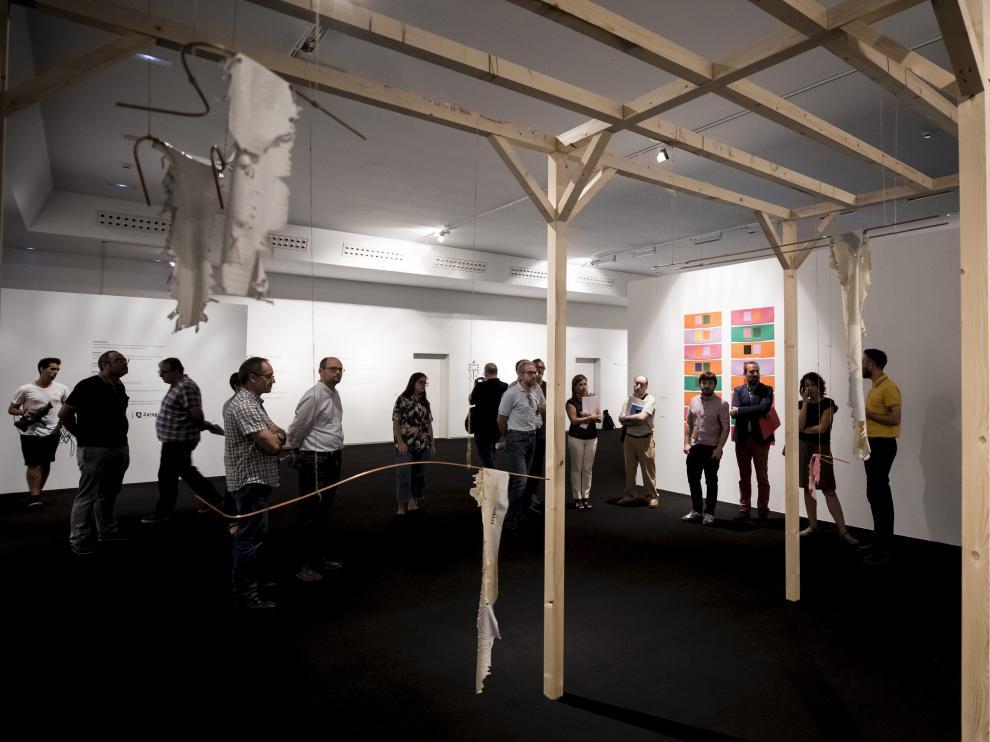 La exposición 'Mensaje de Arecibo 2074' puede visitarse hasta el 5 de enero de 2019