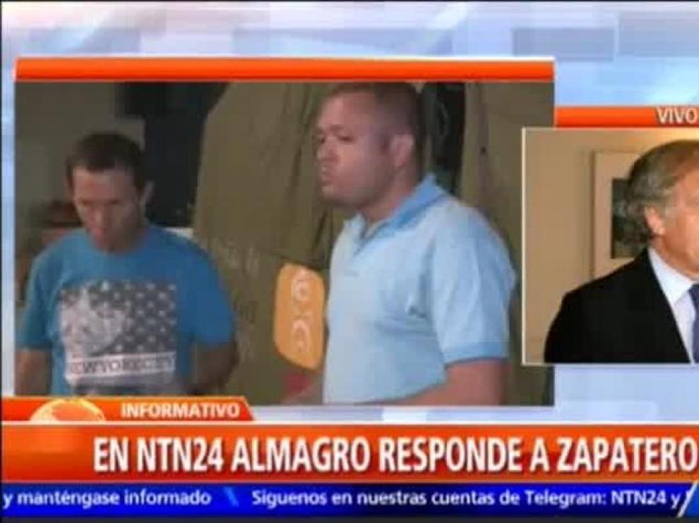 """Almagro a Zapatero: """"Mi consejo es que no sea imbécil"""""""