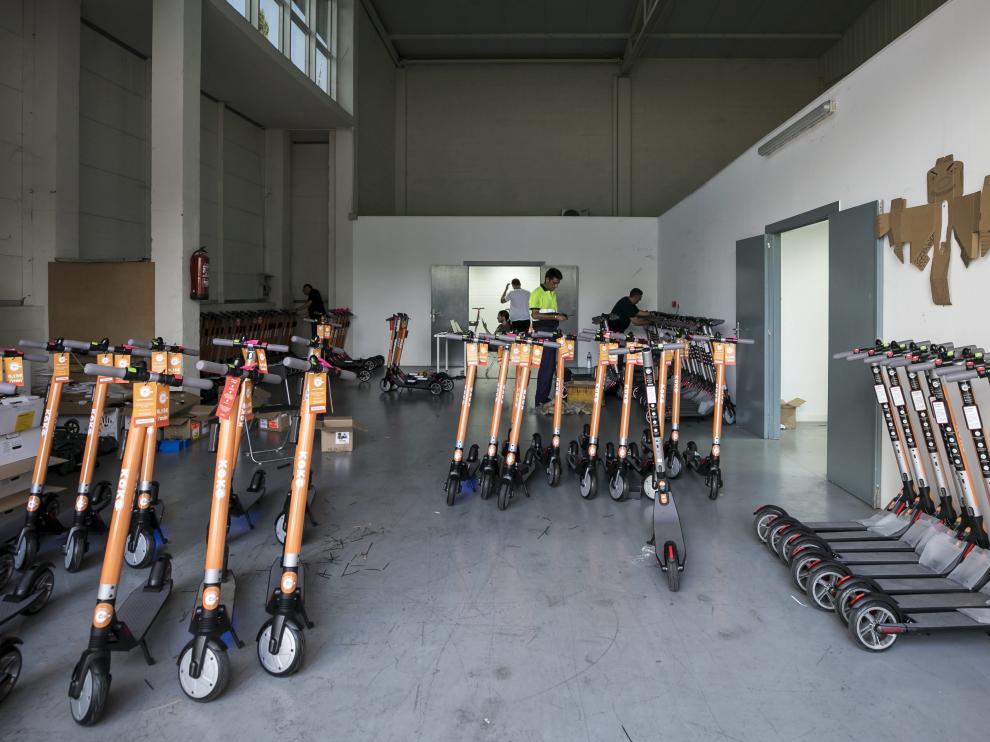 Imagen de archivo del almacén de la empresa Koko en Zaragoza.