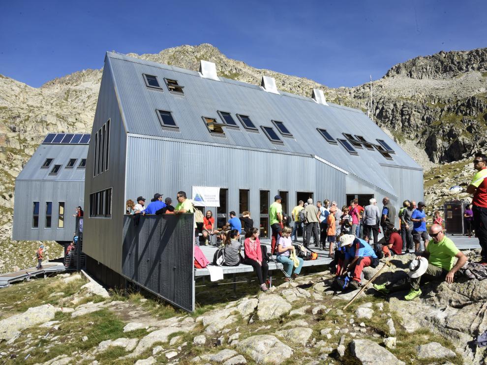 Más de 200 montañeros participaron en la jornada festiva en Cap de Llauset