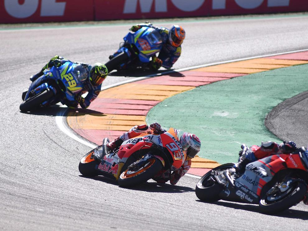 Carrera de MotoGP en Motorland