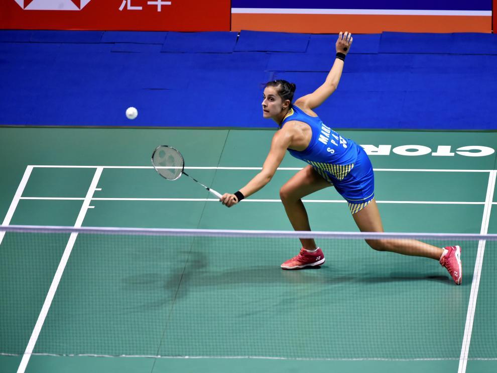 Carolina Marín se proclama campeona del Abierto de China.