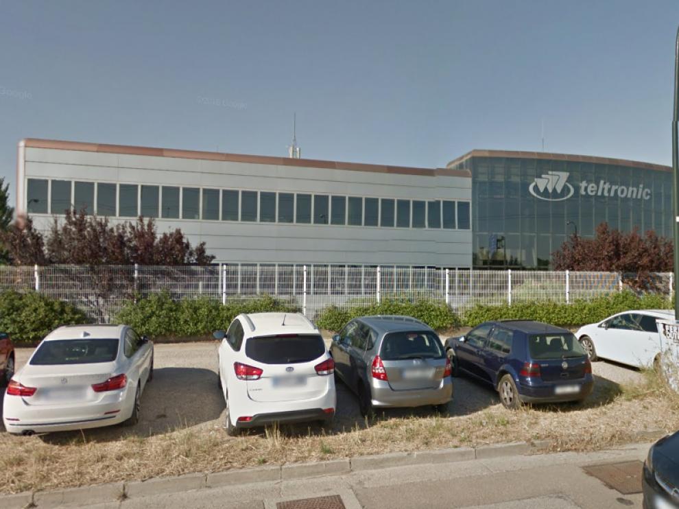 La empresa Teltronic en Zaragoza.