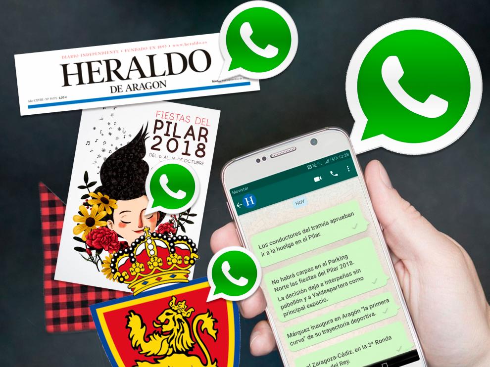 Heraldo ya está en WhatsApp: recibe gratis todas las noticias en tu móvil