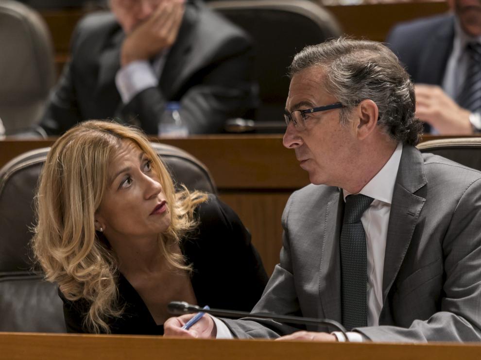 El presidente del PP-Aragón, Luis María Beamonte, en una imagen de archivo.