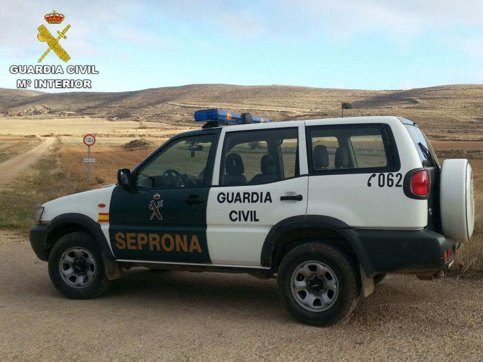 Foto de archivo de un coche del Seprona.