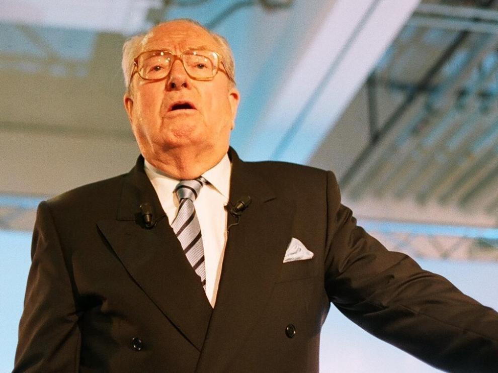Imagen de archivo del líder histórico de la extrema derecha francesa, Jean-Marie Le Pen.