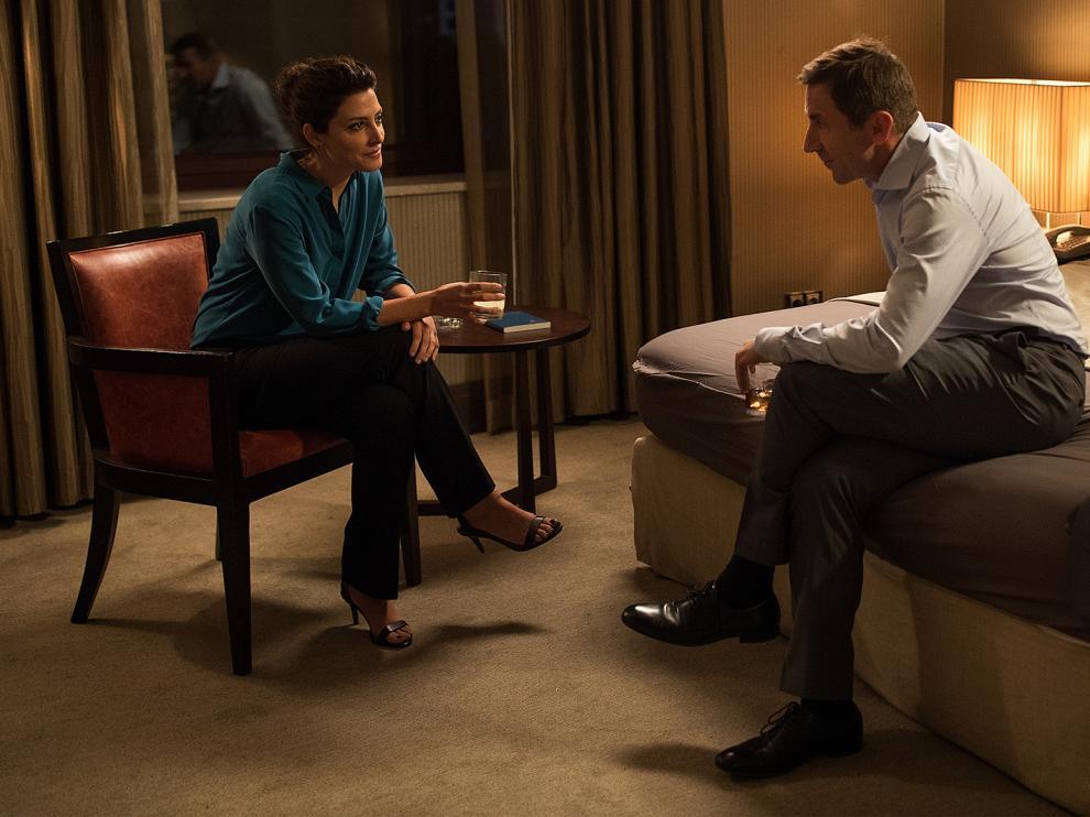 Antonio de la Torre y Bárbara Lennie son dos de los protagonistas de 'El Reino'.