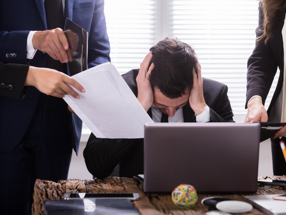 Más de la mitad de los trabajadores que sufren estrés desarrollan otras enfermedades.