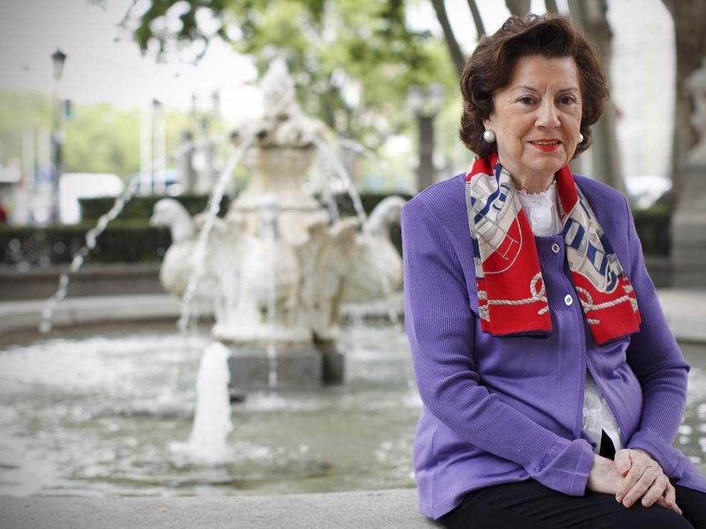 María Teresa Estevan Bolea ha sido premiada por su extensa trayectoria en el mundo de la ingeniería