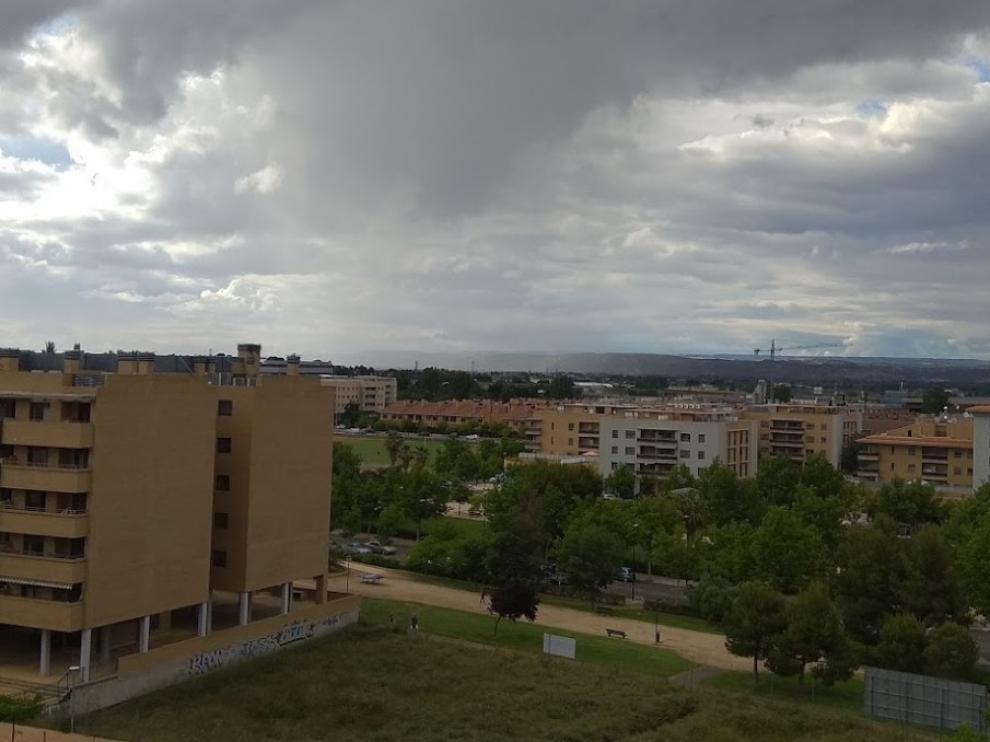 El barrio de Miralbueno, Zaragoza.
