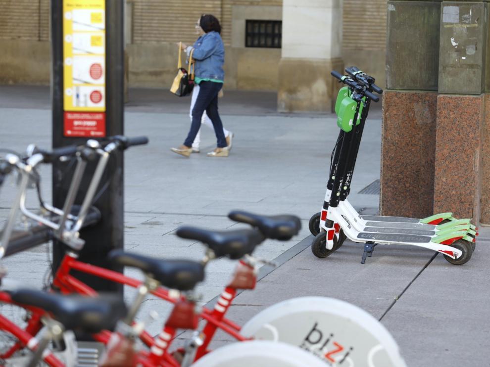 Los patinetes eléctricos de alquiler de Lime ya circulan por Zaragoza