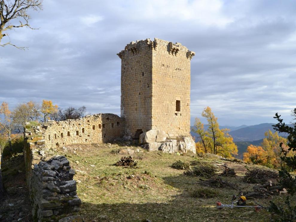 El castillo de Roita entra en la Lista Roja de Patrimonio