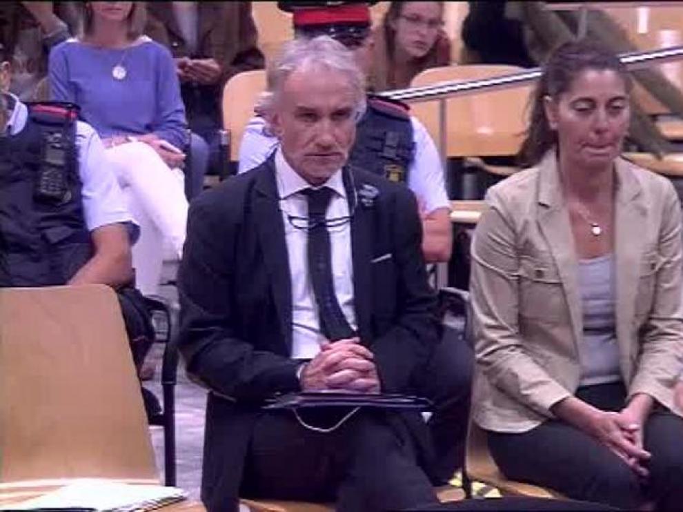 Imagen del juicio contra los padres de Nadia.