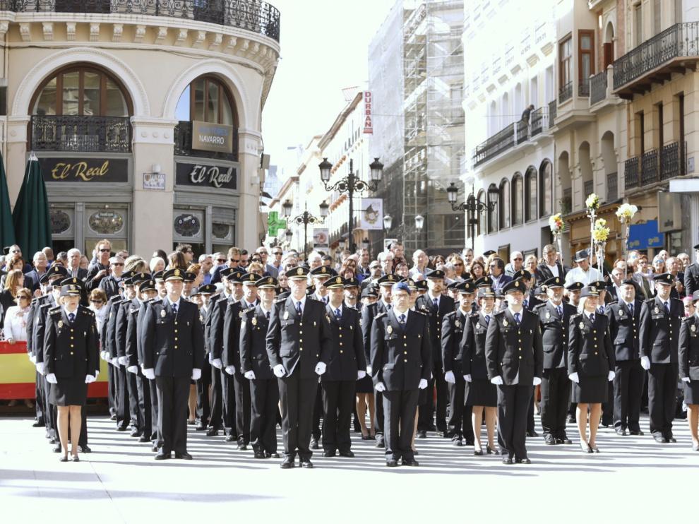 Celebración del Día de la Policía Nacional