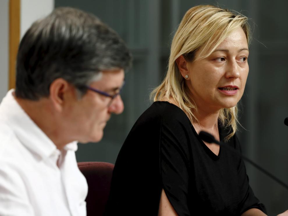 La consejera de Economía, Marta Gastón.