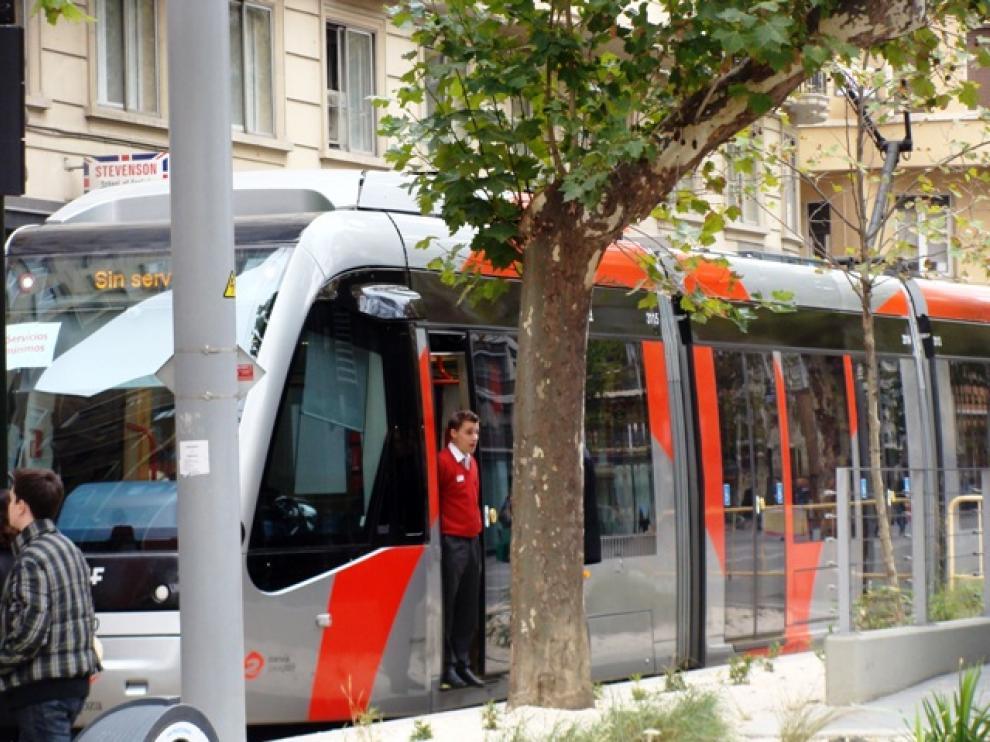 El tranvía de Zaragoza