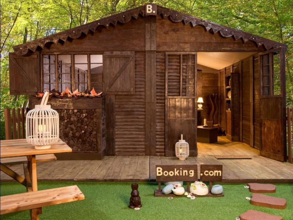 Una casita de chocolate hecha realidad.