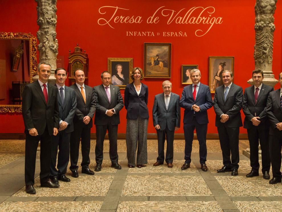 Inauguración de las Jornadas Concursales en Zaragoza.